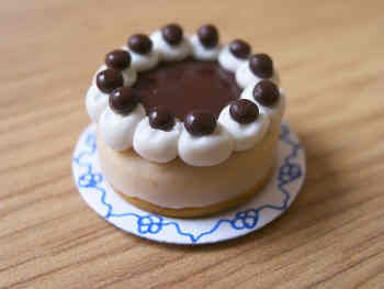 Chocolate top Cheesecake - F68