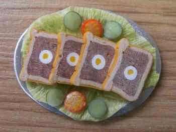 Gala Pie Slices on platter