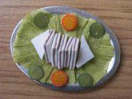Sandwiches on platter - F70