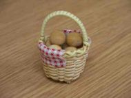 Bread Rolls in a Basket - F74