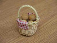 Bread Rolls in a Basket
