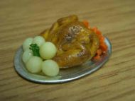 Roast Chicken Platter - F84
