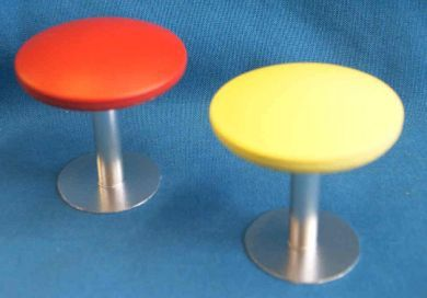 Cafe Stool - Red - FC21