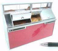 Fish and Chip Shop Frying Range Red panels - FC1R