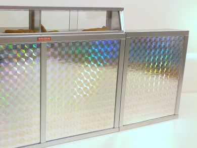 Fish and Chip Shop Counter with Holographic Front Panel - FC2H