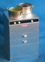 Fish and Chip Shop 2 Ring Cooker with BainMarie - FC3
