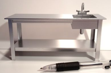 FC31 Preparation Bench with Sink