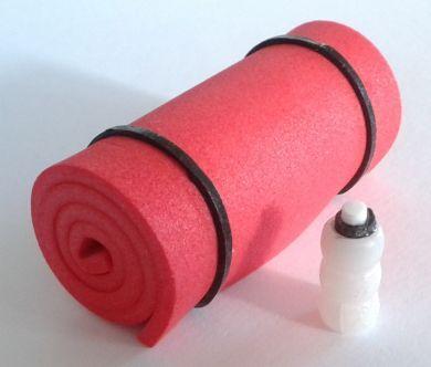 Yoga/Pilates Set - Red - M238