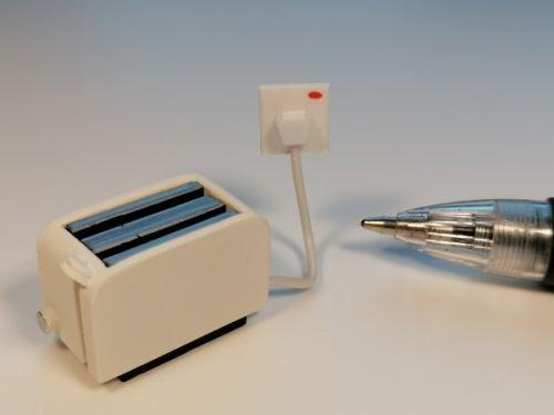 Toaster - White - H37W