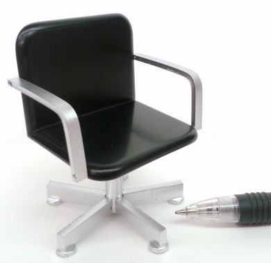 Pleasant Stylist Chair Black Pads Silver Frame Hd2Bs Delph Download Free Architecture Designs Scobabritishbridgeorg