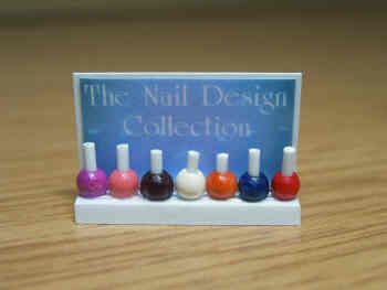 Nail Varnish Display