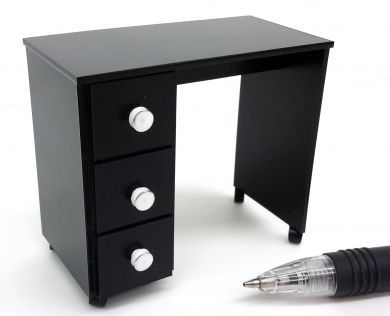 Manicure Table in Black - HD38B
