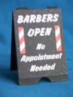 Barbers Shop Open 'A' Board - HD45