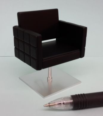 Stylist Chair - Square in Black - HD63B