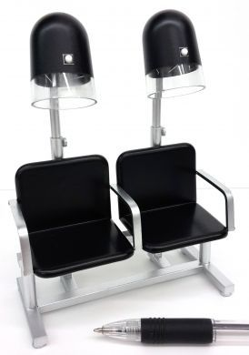 HD7B/S Black Seat Dryer Bank
