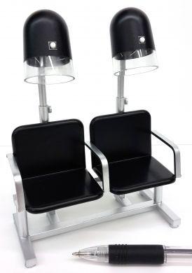 Dryer Bank - Black Seats and Hoods- HD7B/S