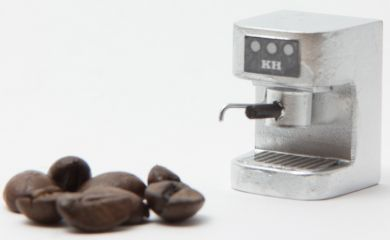 H68S Silver Kitchen Espresso