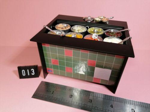 Salad Bar - 8 Bowls - Code 013
