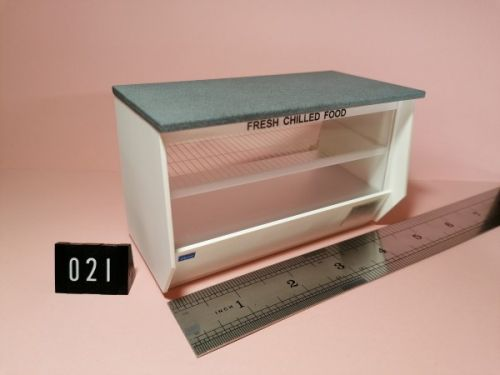 Marble Topped Chill Counter - Code 021