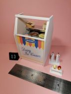 Ice Cream Display - 4 Bowls - Code 03