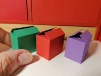 S34 Green Red Purple Carton