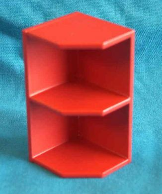 Wall End Corner Shelf  suits left or right