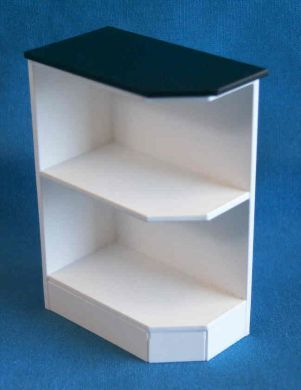 Base End Corner Shelf left - KW11