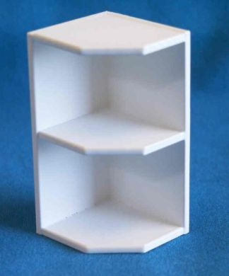Wall End Corner Shelf left or right