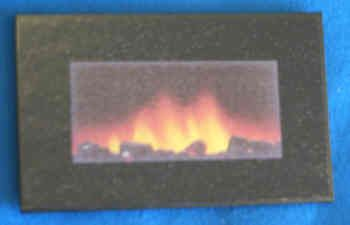Wall Fire - Flame Effect - M126