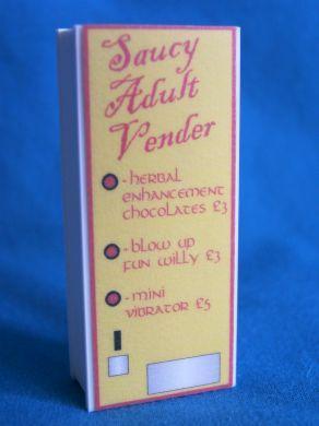 Vending Machine - Saucy Adult Items! - M142