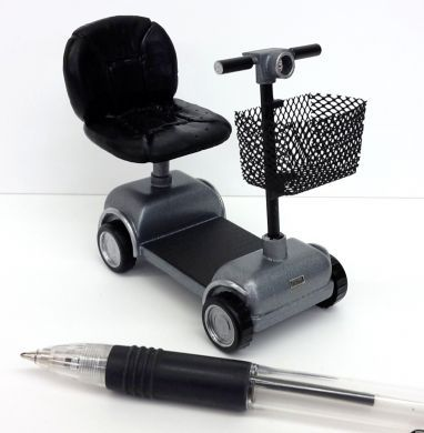 Mobility Scooter Silver