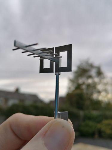 Tv Aerial For Chimney - M156