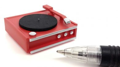 M241R Red Record Player