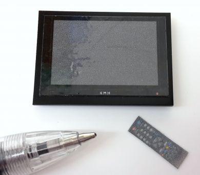 Small BLACK Wall Mounted Plasma TV - M272B