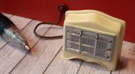 1950's Electric Fire 'Un-lit/Off'' - M275