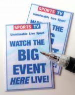 Sports TV Posters - Big Event - M282BigEvent
