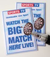 Sports TV Posters - Darts - M282