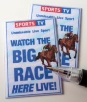 Sports TV Posters - Horse Racing - M282