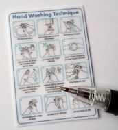 Handwashing Technique Poster - M295