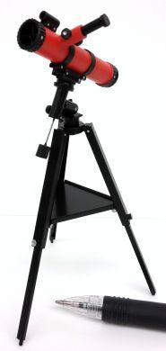 M301R High Detail Astronomical Telescope in Red
