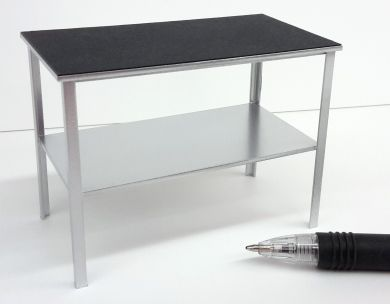 M304s Vet's Examination Table - Silver