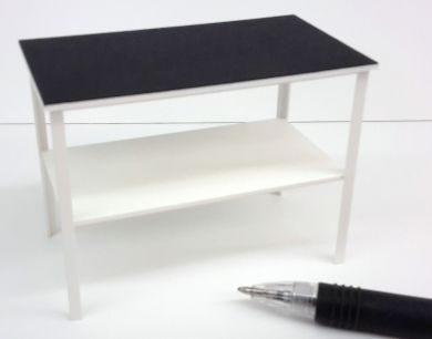 M304w Vet's Examination Table - White
