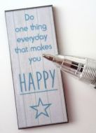 Wall Plaque - Do one thing - M313
