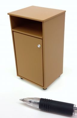 M318c Bedside Locker in Coffee