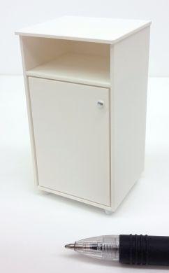M318w Bedside Locker in White