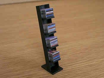 CD Rack with CDs