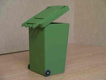 Wheelie Bin - M43 MATT GREEN