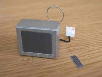 Portable TV  silver finish - M56S