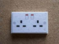 Wall Socket - Double - M85