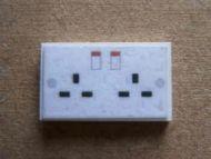Wall Socket - Double - M85